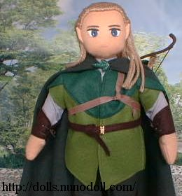 Short Legolas doll