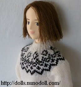 Girl doll in Lopi