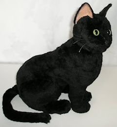Plush Black Cat Stuffed Animal Cat Hd Wallpaper Utsprokids Org